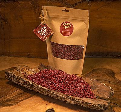 خرید زرشک دانه اناری 1.5 کیلوگرمی